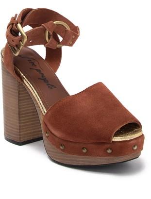 Free People Justine Platform Block Heel Sandal