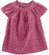 Osh Kosh Oshkosh Bgosh Toddler Girl Smocked Flutter Top