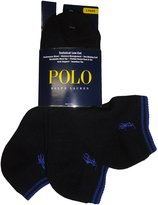 Polo Ralph Lauren men's socks Tech Ped low cut 3pairs