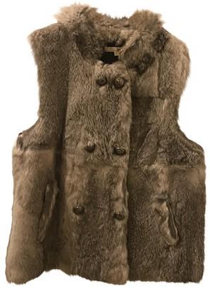 BA&SH Grey Rabbit Jacket for Women