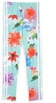 adidas Girl's Floral Leggings
