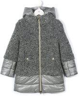 Herno Kids padded hooded coat