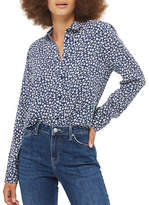 Topshop Ditsy Daisy Casual Shirt