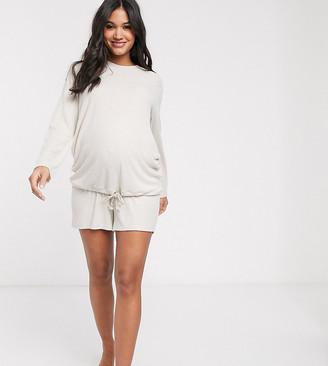 Asos DESIGN Maternity mix & match lounge super soft short