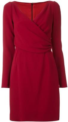 Dolce & Gabbana Wrap-Style Short Dress