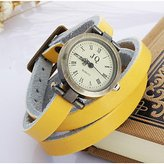 Unknown Watches, Women's Bohemian Watches Three Leather Watch ( Color : , Gender : )
