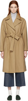 Harmony Camel Belted Maggy Coat