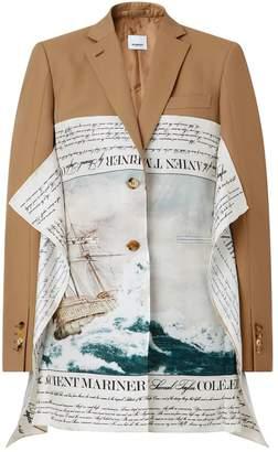 Burberry Mariner Print Blazer