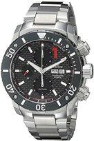 Edox Men's 01114 3M NIN Chronoffshore Analog Display Swiss Automatic Silver Watch