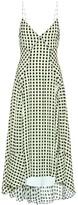 Proenza Schouler Checked georgette midi dress