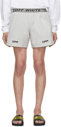 Off-White Off White Grey Lounge Track Shorts