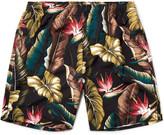 Stussy Slim-Fit Long-Length Printed Swim Shorts