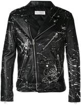 Faith Connexion customizable men's leather jacket