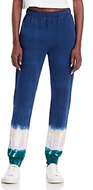 Monrow Tie-Dye Jogger Pants