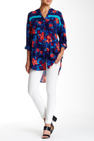 Plenty by Tracy Reese Henley Printed Tunic