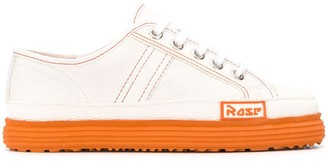 Martine Rose Basketball contrast stitching sneakers