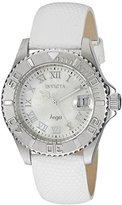 Invicta Women's 18406SYB Angel Analog Display Swiss Quartz White Watch