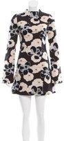 Suno Floral Jacquard Mini Dress w/ Tags