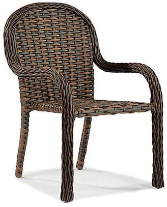 Lane Venture South Hampton Stackable Armchair - Tuscan Brown