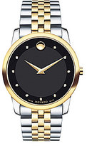 Movado Men's Museum Classic Stainless Steel Swiss Analog Watch