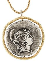 Kenneth Jay Lane Cameo Pendant Necklace