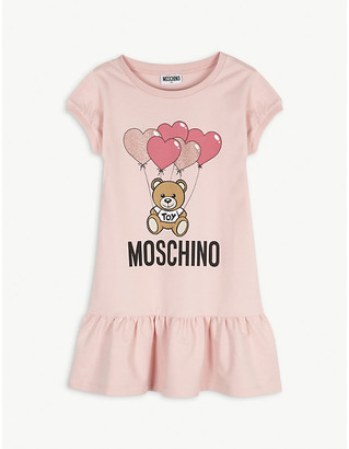Moschino Balloon bear cotton dress 4-14 years