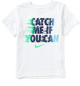 Nike Little Boys 2T-7 Catch Me If You Can Short-Sleeve Graphic Tee