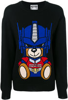 Moschino Transformer Bear jumper - women - Cotton/Virgin Wool - S