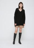 Acne Studios black deka l-wool