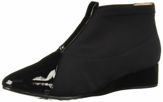 Taryn Rose Women's Camila Ankle Boot Black 8 M Medium US