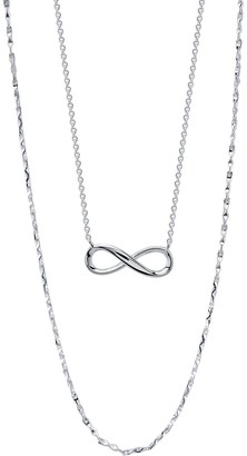 Love This Life Infinity Necklace set