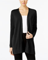 Alfani Zip-Trim Cardigan, Only at Macy's