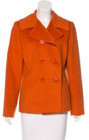 Cinzia Rocca Double-Breasted Wool Jacket