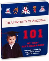 Bed Bath & Beyond University of Arizona 101: My First Text-Board-Book