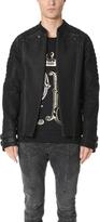 Pierre Balmain Classic Leather Jacket