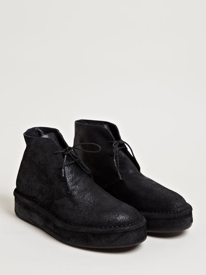 Men's Blister Hi-Top Platform Shoes
