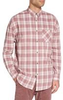 Zanerobe Men's Check Rugger Oversize Plaid Shirt