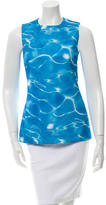 Michael Kors Printed Sleeveless Top
