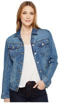 Calvin Klein Jeans Oversized Boyfriend Trucker Jacket Women's Coat