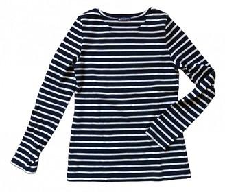 Petit Bateau Blue Cotton Top for Women