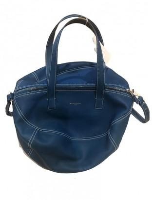 Balenciaga Air Hobo Blue Leather Handbags
