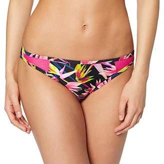 Esprit Women's Rio Beach Mini Brief Bikini Bottoms, (Black 3 003), 10 (Size: )