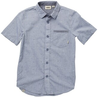 Vans By Mini Town Short Sleeve Patterned Shirt