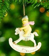 Lenox 2017 Disney s Winnie the Pooh Baby s First Christmas Ornament
