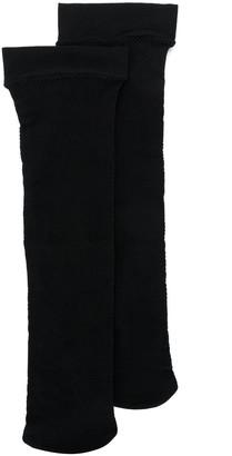 Fendi FF motif mesh socks