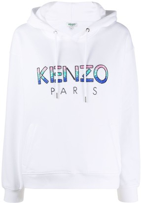 Kenzo Beaded Logo Hoodie