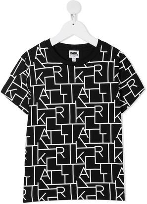 Karl Lagerfeld Paris Digi printed T-shirt