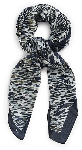 HUGO BOSS Women-Z Silk-Wool Blend Scarf - Open Miscellaneous