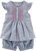 Osh Kosh Oshkosh 2 pc Striped Sun Set Toddler Girls