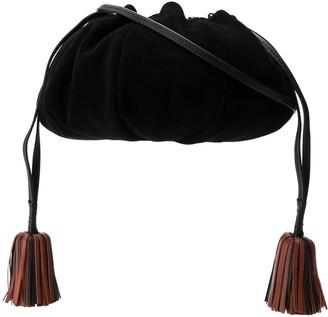 Ulla Johnson Tassel Detail Shoulder Bag